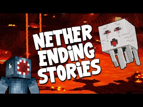 Minecraft – Boss Battles – Nether Ending Stories! [12]