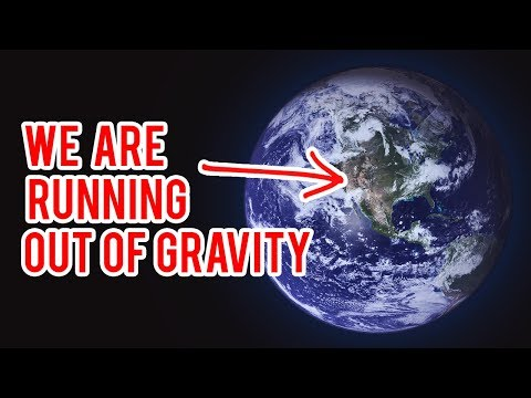 we are running out of gravity...