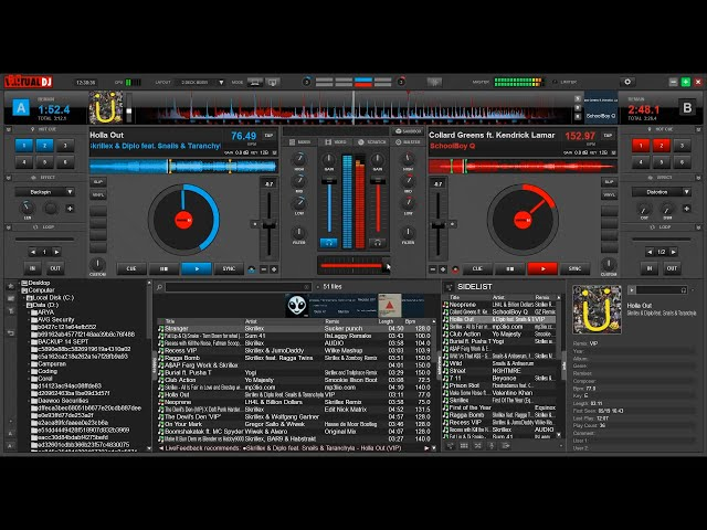 how to use virtual dj 8 to mix songs