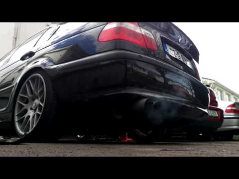 BMW e46 318i exhaust