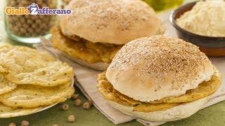 Panelle (chickpea fritters) - Italian recipe