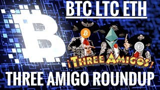 Litecoin market update with Ethereum and Bitcoin