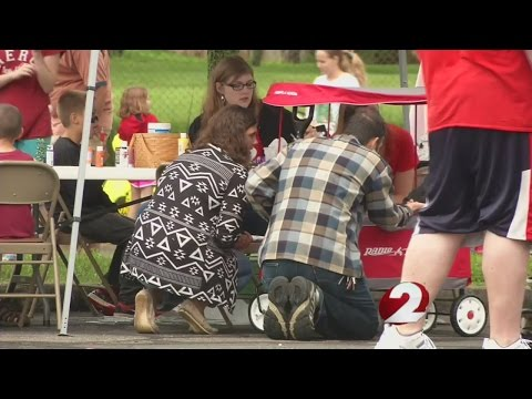 Families engage in fun at West Carrollton park