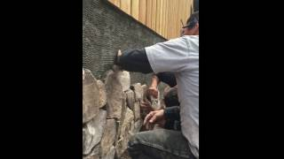 Steve Griggs Design | Applying thin Stone to a House
