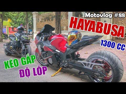 Z1000 thần thánh đối đầu Hayabusa thần gió 1300cc độ kéo gắp, lốp cực khủng | Motovlog 88 - Thời lượng: 15:47.