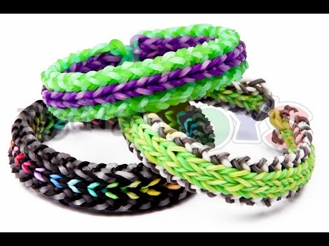 How to Make a DUO REVERSIBLE – Advanced Rainbow Loom Bracelet