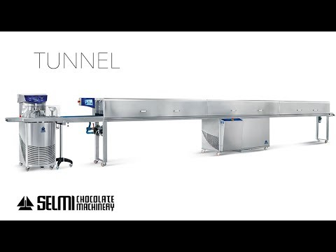 Selmi Chocolate - Tunnel 800 – Coating line