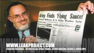 Leak Project interview, Interstellar Space Travel, Flying Saucers, Aliens & Cover-ups