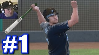 Drafted by the Dodgers! | MLB 15 The Show | Road to the Show #1