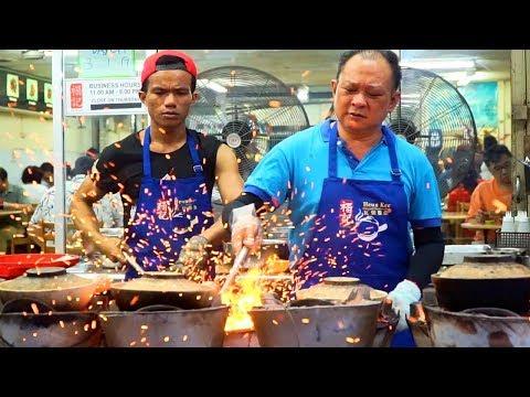 MALAYSIAN STREET FOOD - FIREWORK CHICKEN | CRAZY Street Food in Kuala Lumpur, Malaysia + JALAN ALOR