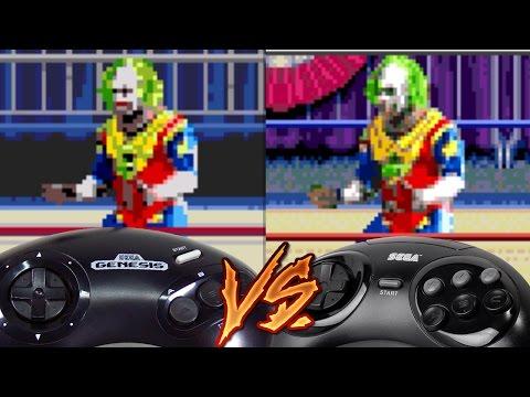 Sega Genesis Vs Sega 32x - WWF WrestleMania: The Arcade Game