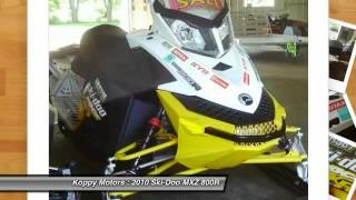 8. 2010 Ski-Doo MXZ 800R St Paul, Forest Lake, Twin Cities 9771