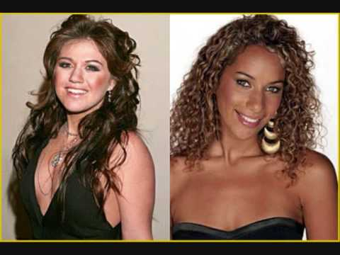 Kelly Clarkson & Leona Lewis-A Moment Like This ( Duet )
