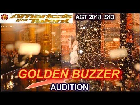 Courtney Hadwin 13 years old GOLDEN BUZZER WINNER future Janis Joplin America's Got Talent 2018