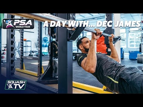 Squash: A Day With... Declan James