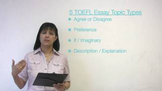 TOEFL Essay Types and Essay Patterns