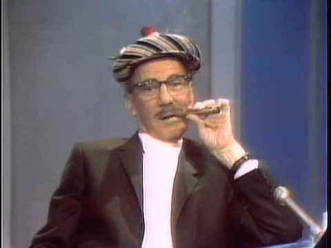 Talk Show - Groucho Marx on the Dick Cavett Show