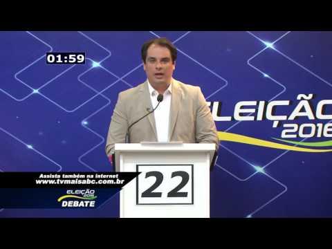 06/09/2016 Debate - São Caetano do Sul