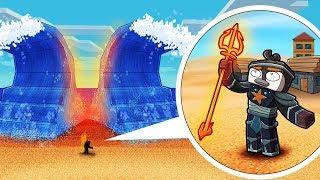 Minecraft - TSUNAMI BASE CHALLENGE! (Tsunami vs Atlantis)