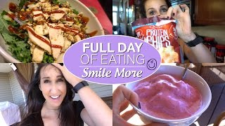 Full Day Of Eating – Smile More – Teeth Whitening Secret
