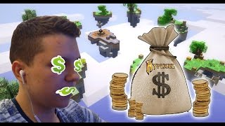 HYPIXEL GAVE ME A SMALL LOAN OF 50 COINS! - Minecraft Skywars