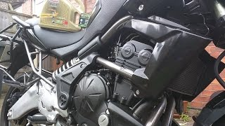 2. Kawasaki Versys 650 Oil and Filter Change