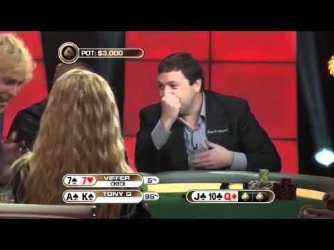 Tony G a Viffer - výměna karet