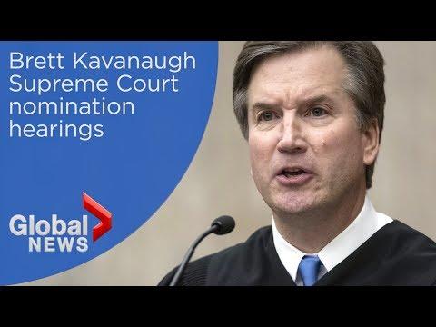 LIVE: Brett Kavanaugh Supreme Court confirmation hearings
