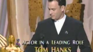 Tom Hanks Wins Best Actor: 1995 Oscars