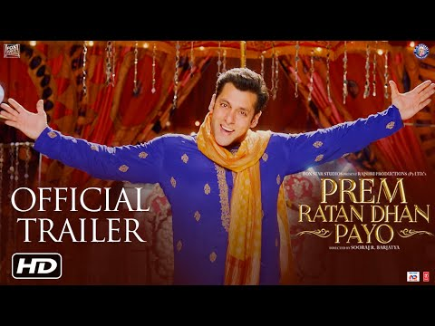 Prem Ratan Dhan Payo Movie Trailer 2015| Salman Khan | Sonam Kapoor