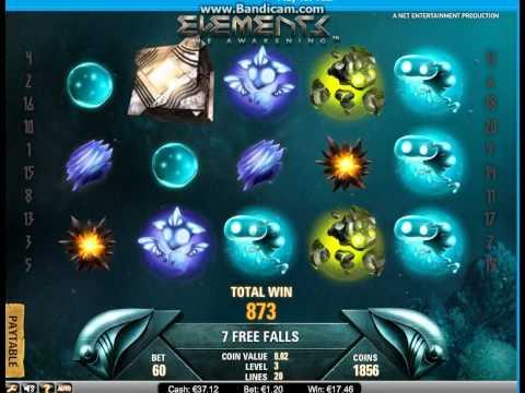 Elemental / Elementix Online Video Slots - Free Spin win