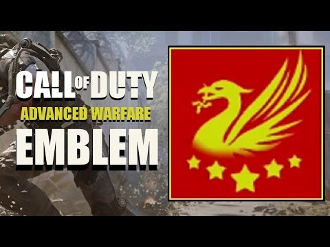 COD AW / Call Of Duty Advanced Warfare : Liver Bird Liverpool Badge Emblem Tutorial