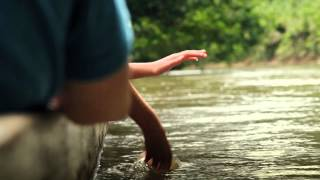 Initial frame of Huaorani Ecolodge video