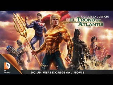 La Liga De La Justicia El Trono De Atlantis Película Completa