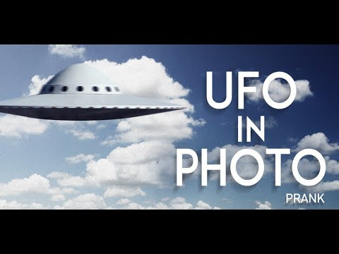 Video of UFO in photo