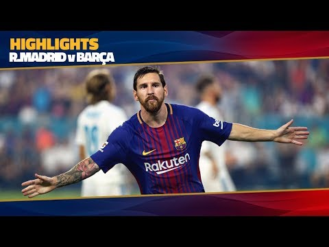 [HIGHLIGHTS] FC Barcelona - Real Madrid (3-2) ICC 2017