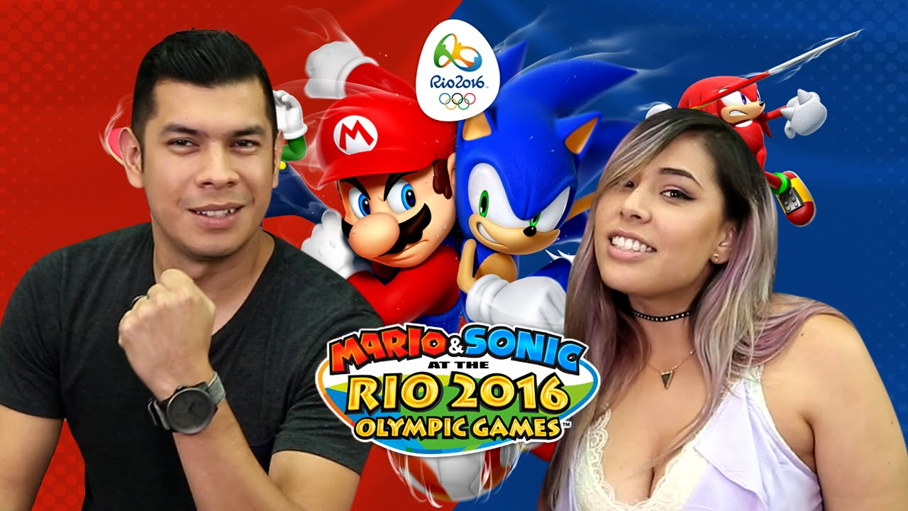 WHO'S THE BEST OLYMPIC PLAYER?! Husband vs Wife – Mario & Sonic Rio Olympics 2016