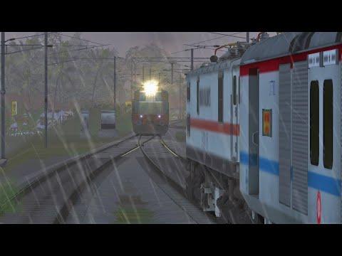Indian Train Simulator: Rare Diesel Locomotive powers Trivandrum Chennai SF Mail