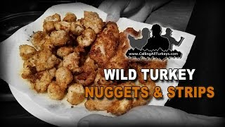 Wild Turkey Nuggets