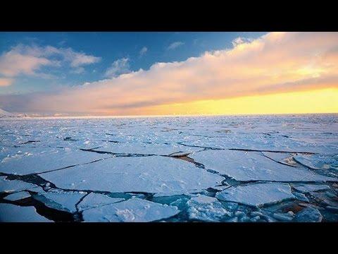 Arctic ice falls