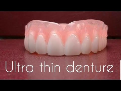 Russell Klein Ultra thin denture/flexible partial review demo video