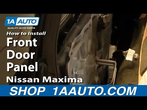 How To Install Remove Front Door Panel Nissan Maxima 00-03 1AAuto.com