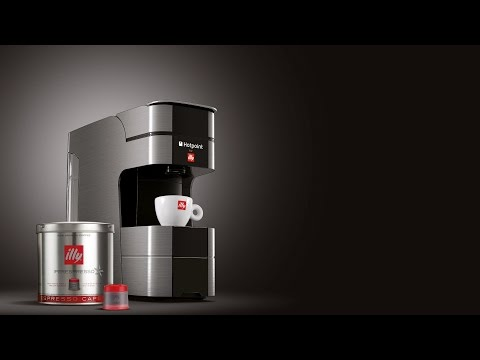 Hotpoint for illy Espresso Machine With Capsule System