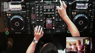 DJ Antonin Live In The Mix At The Ibiza Sonica Studios DJsounds Show
