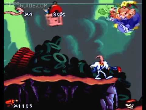 trucos earthworm jim 2 super nintendo