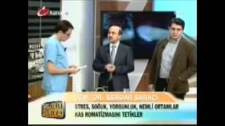 Dr Serdar SARAÇ, Kas Romatizması ve Kuru İğne Tedavisini Ender SARAÇ'la konuşuyor.