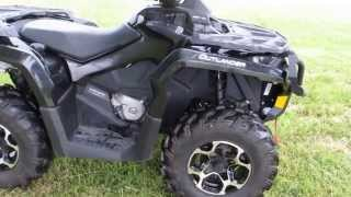 6. 2012 Can Am Outlander XT, 1000cc's of raw torque, power steering, ready to ride!, for sale in Texas