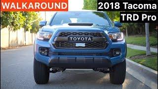 2018 Toyota Tacoma TRD Pro WALKAROUND by MilesPerHr