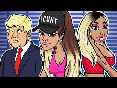 Video Ariana Grande ft. Nicki Minaj - Side To Side (CARTOON PARODY) download in MP3, 3GP, MP4, WEBM, AVI, FLV January 2017