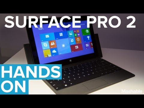 Microsoft Tablet - The Surface Pro 2 may just be the most powerful tablet on the market. Microsoft has combined a new round of tweaks (including a wider kickstand and longer ba...